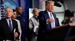 Trump On His Response To Coronavirus: 'I'd Rate It A
