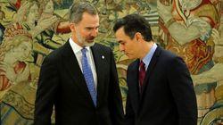 El rey se reúne el miércoles con Sánchez y el comité de gestión de la