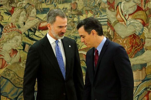 Felipe VI y Pedro