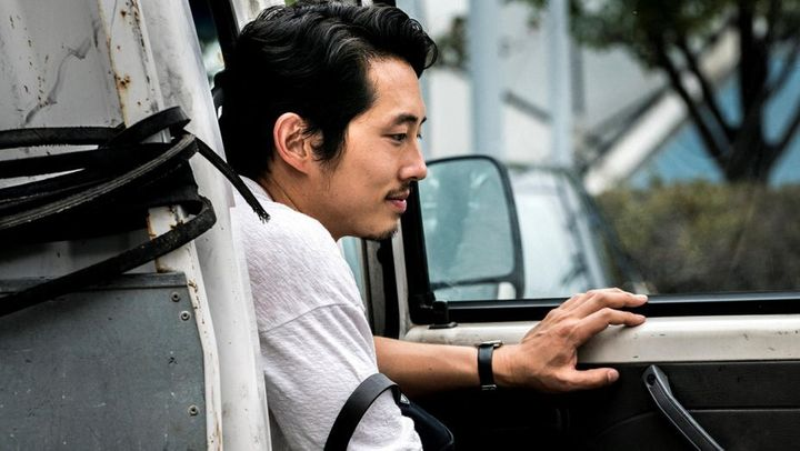 "Steven Yeun in ""Burning."""