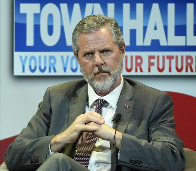 Jerry Falwell Jr. is the president of Liberty University in Lynchburg,