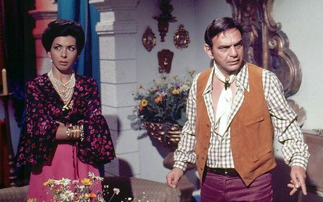 Betty Faria e Lima Duarte em cena de