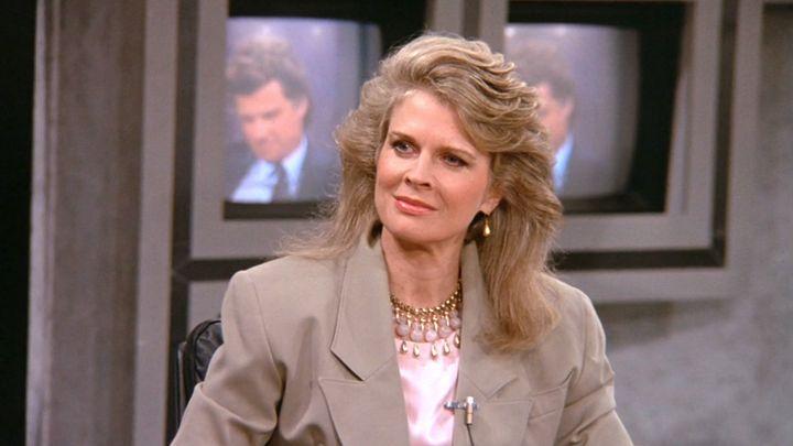 La protagonista de la serie 'Murphy Brown'.