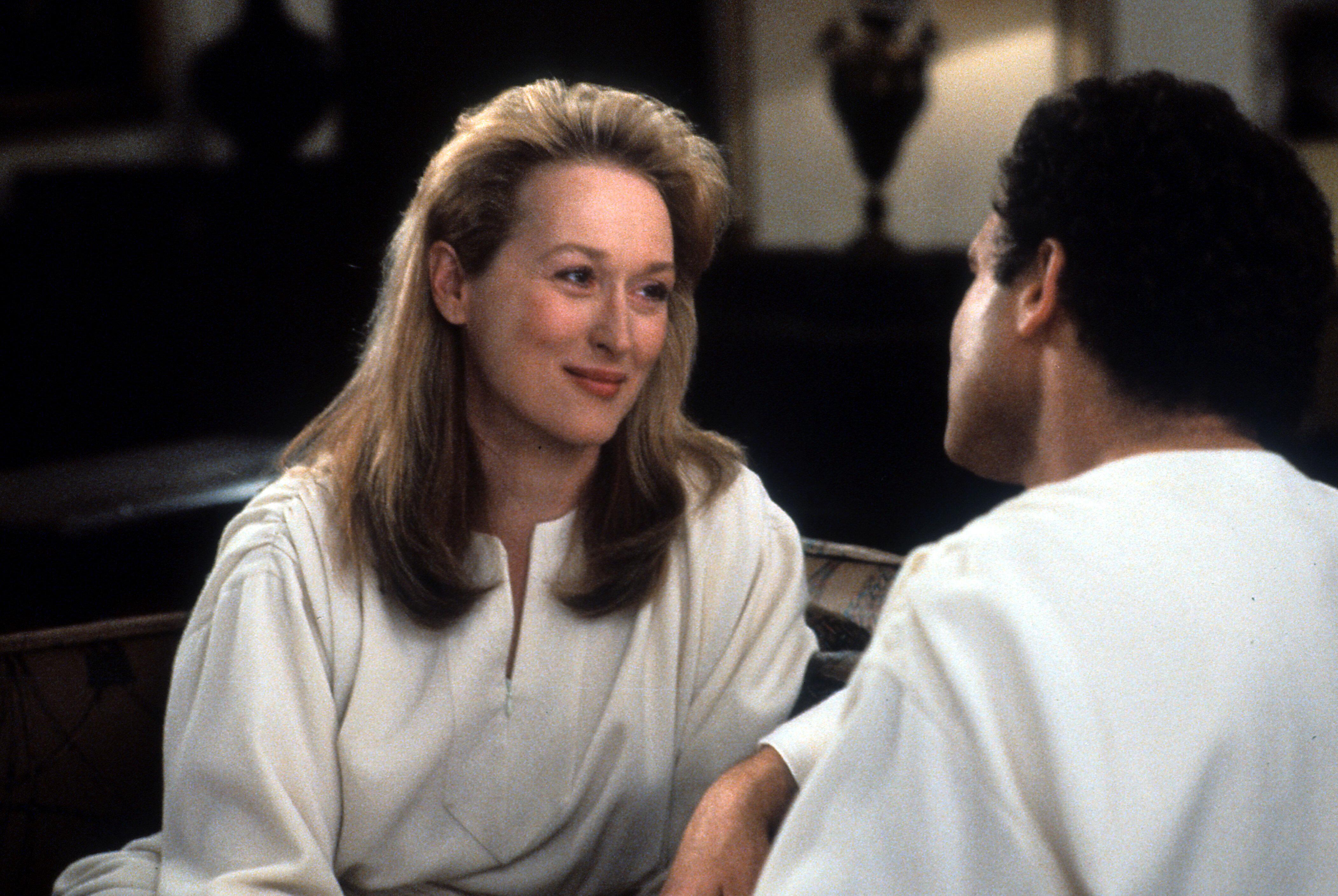 "Meryl Streep in ""Defending Your Life."""