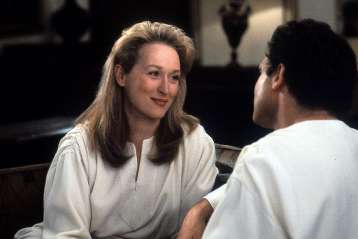 "Meryl Streep in ""Defending Your Life."""