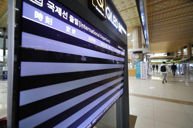 '국제선 0편' 김포공항은 하루 내내 적막했다