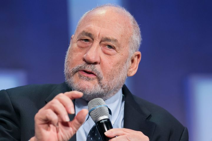 A file photo of Stiglitz. The Columbia University professor, who won the Nobel Prize in 2001, says that an increase in demand can't be the answer if the supply chain is broken.