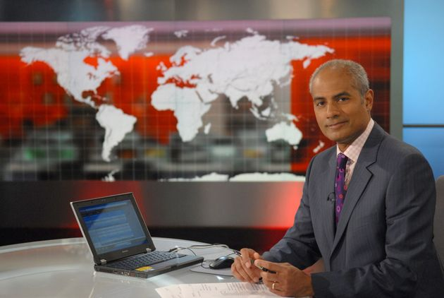 George Alagiah in the BBC World News