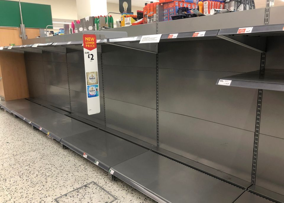 Thousands of Brits have been panic buying in response to the outbreak and growing