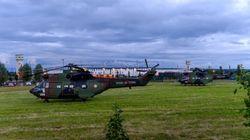 Des hélicoptères de l'armée mobilisés pour transférer des malades de l'Alsace vers le Var