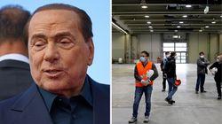 Berlusconi dona 10 milioni per i posti in terapia intensiva alla Fiera di