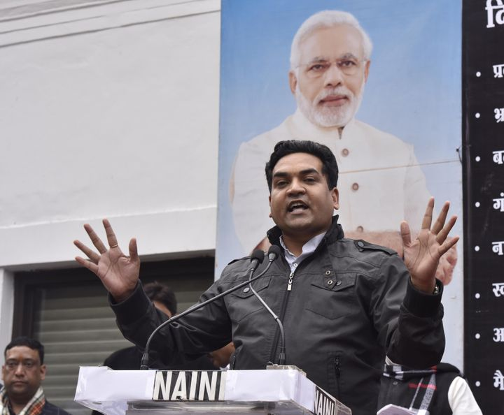 A file photo of Kapil Mishra, the BJP leader accused of inciting the Delhi riots.