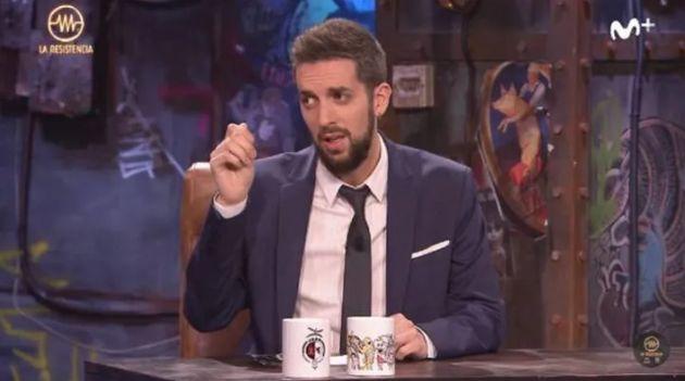 El cómico y presentador David