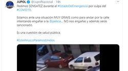 La policía se pronuncia sobre uno de los vídeos del momento: