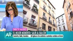 Lo ocurrido en una calle de Madrid en plena crisis del coronavirus hace llorar a Ana Rosa en pleno