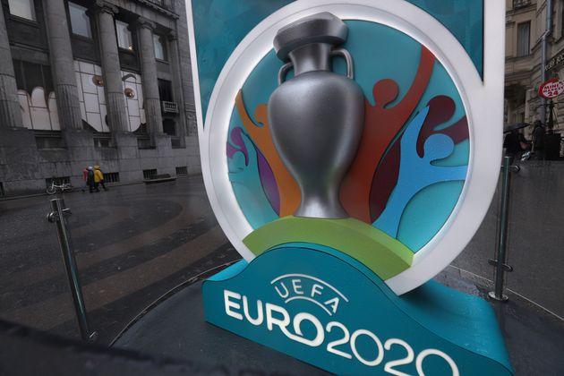 Le logo de l'Euro 2020 de