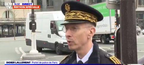Didier Lallement annonce que les premières contraventions pour non respect du confinement sont