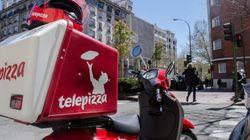 Sanidad accede al acuerdo de Madrid con Telepizza para dar menús a