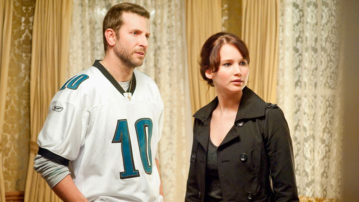 """Bradley Cooper and Jennifer Lawrence in """"Silver Linings Playbook"""""""