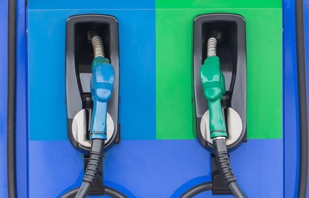 Activists hope climate warning labels on fuel pumps will help customers think about the choices they're...