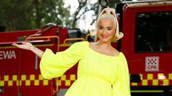 La grossesse très colorée de Katy Perry fait du bien à