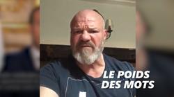 Le coup de gueule de Philippe Etchebest après le discours de
