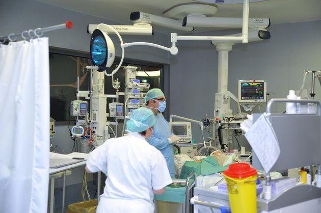 Nella foto Bergamo ospedale Papa Giovanni Terapia intensiva archivio Marzo 2020 Tiziano