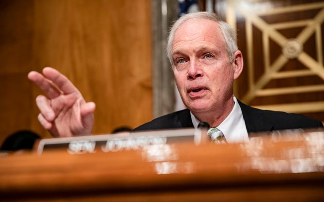 Sen. Ron Johnson (R-Wis.) is chair of the Senate Homeland Security Committee and is concerned about giving...