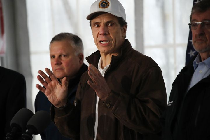 New York Gov. Andrew Cuomo says his state is desperate for ventilators and wants federal help.