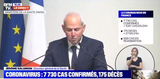 Jérôme Salomon annonce que la téléconsultation va désormais être prise en charge à