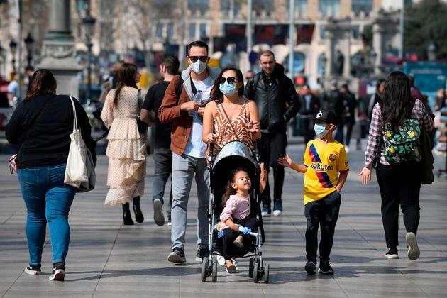 El estado de alarma suspende el régimen de visitas de hijos de padres separados, según una