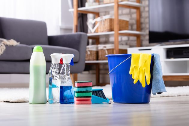 There is a list of pre-approved cleaning products to sanitize surfaces amid the COVID-19
