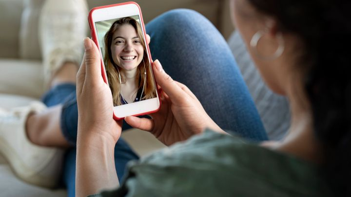 The World Health Organization suggests keeping in touch digitally if you are self-isolating.