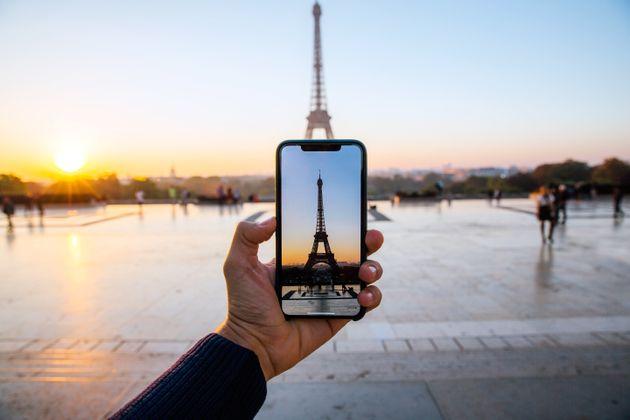 Torre Eiffel, um dos cartões-postais da França, país da UE que tem as fronteiras