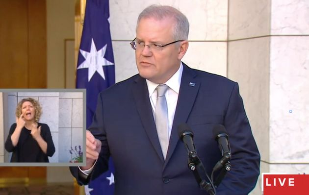 Scott Morrison announces historic restrictions in a bid to curb the spread of