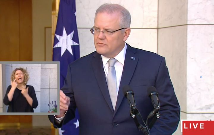 Scott Morrison announces historic restrictions in a bid to curb the spread of COVID-19