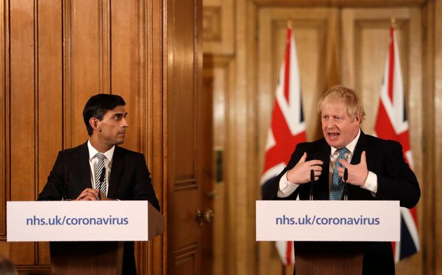 Chancellor Rishi Sunak and Prime Minister Boris