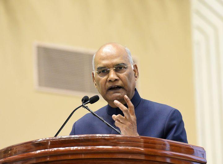 File image of President Ram Nath Kovind.