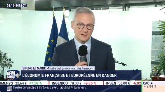 Bruno Le Maire a appelé ce mercredi