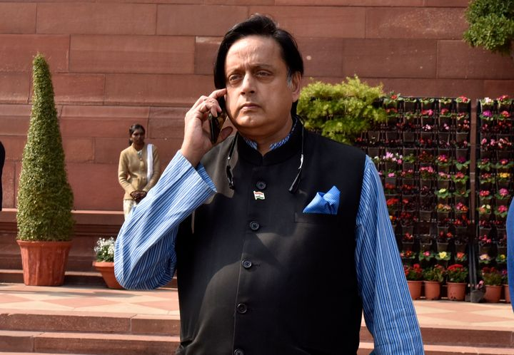 File image of Congress leader Shashi Tharoor.