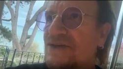 Bono canta una nuova canzone