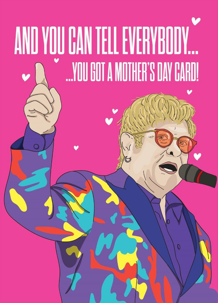 Tell Everybody You Got A Mother's Day Card, Scribbler, £3.19