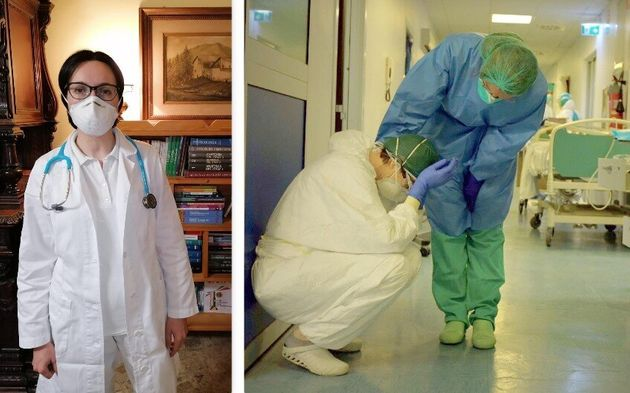 Stefania Pini, ospedale di