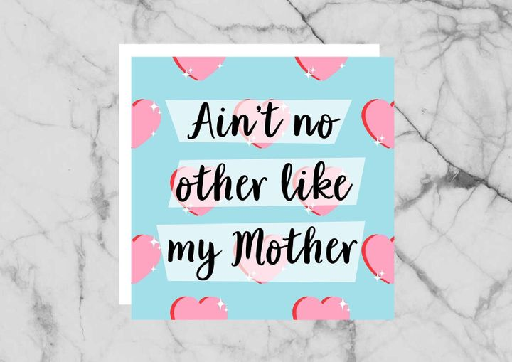 Mother's Day Card, Etsy, £2.52