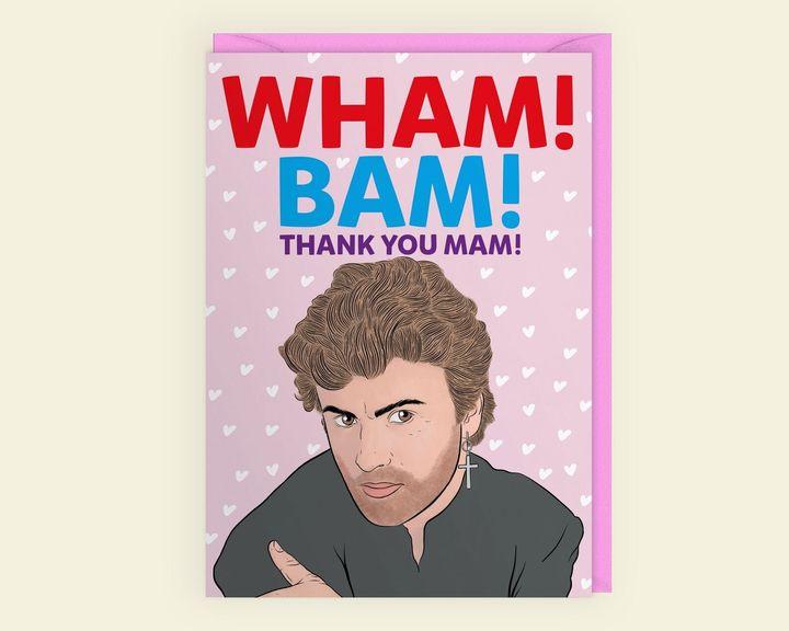 Wham Bam Thank You Mam, Etsy, £2.95