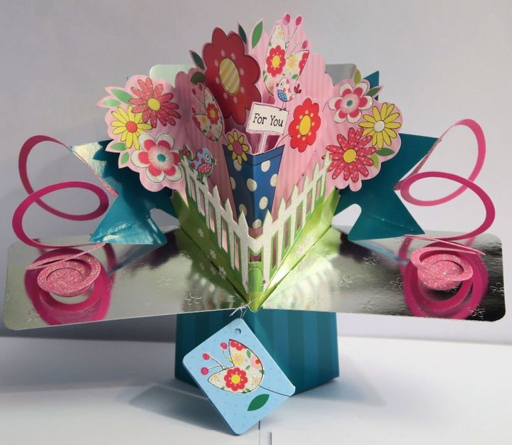Mother's Day 3D Pop up Surprise Card, Etsy, £4.25