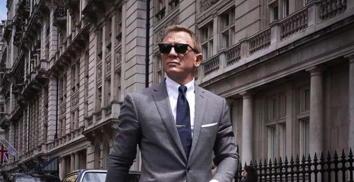 Una imagen de la nueva película de James Bond, 'Sin tiempo para morir'.