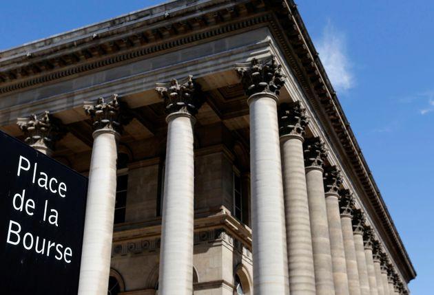 Le palais Brogniart au centre de Paris a abrité pendant de longues années la place boursière