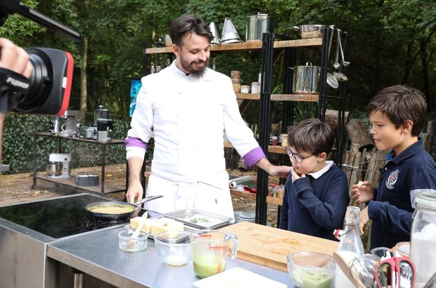 """Dans """"Top Chef"""" sur M6, Adrien face à la mythique épreuve des"""
