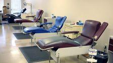 Blut Spenden Nehmen Einen Großen Hit Während Der Corona-Virus-Ausbruch